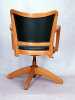 Chaise a accoudoirs fauteuil bureau tournant 1950 vintage - Fauteuil bureau industriel ...
