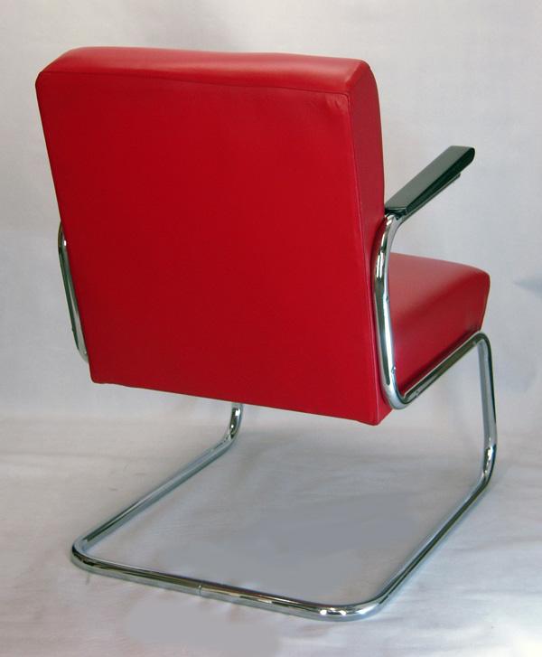 paire de fauteuils moderniste vintage des ann es 1930 restaure. Black Bedroom Furniture Sets. Home Design Ideas