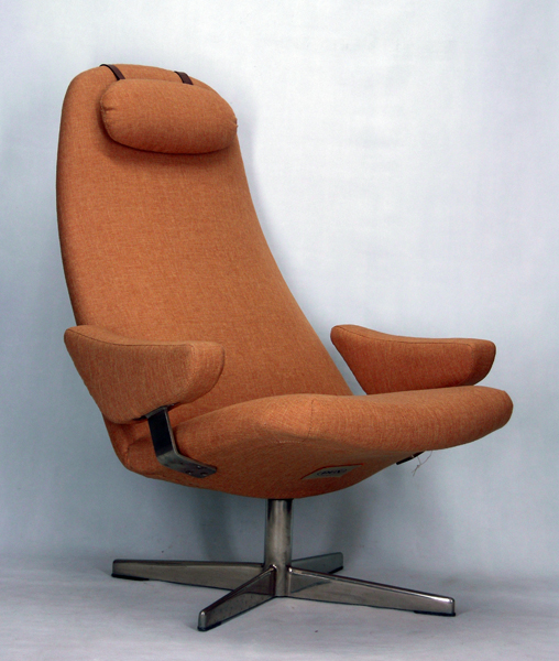 Fauteuil Tournant Svensson Dux Vintage Design - Fauteuil tournant design